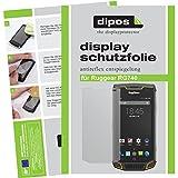 dipos I 6X Schutzfolie matt passend für Ruggear RG740 Folie Displayschutzfolie