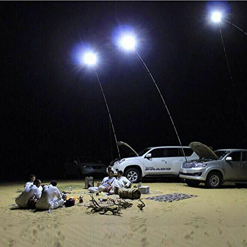 12 V Teleskop LED Angel Outdoor Laterne Camping Licht weiß mit IR-Fernbedienung 4 m Rod