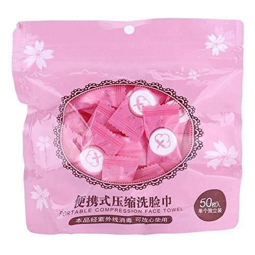 Zclleiyi Waschlappen Atmungsaktives, komprimiertes Mini-Handtuch-Gesichtsputztuch aus Vliesstoff for die Reise einfach Wasser hinzufügen Handtuch (Color : 2) -