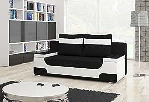 Divano Area 2 posti con Funzione letto Funzione sleep Cassettoni per letto Divano letto 01489