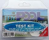 MYPOOL Wasserpflege Chlor - & pH-Testgerät