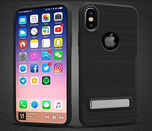 Kadcope Copertura del telefono cellulare per iPhone X, SoftFlex Custodia protettiva sottile per la copertura Apple iPhone X / iPhone X Green-B
