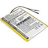 subtel® Batería premium para Creative Zen X-Fi (550mAh) bateria de repuesto, pila reemplazo, sustitución