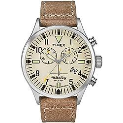 Timex Reloj Análogo clásico para Hombre de Cuarzo con Correa en Ninguno TW2P84200