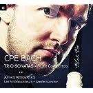 C.P.E. Bach: Trio Sonatas - Flute Concertos by Les Ambassadeurs (2014-05-04)