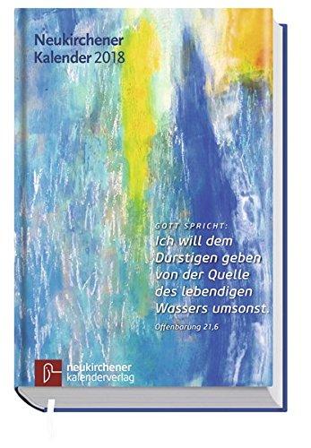 Neukirchener Kalender 2018: Buchausgabe in großer Schrift