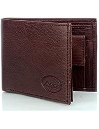 Mammon Men's Brown Leather Wallet