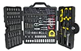 Stanley 73795 Mixed Tool Set, 210 Pieces - Polished Chrome