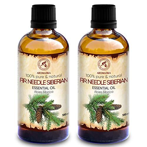 Aceite Esencial Abeto 200ml - Siberiano - 2x100ml - Abies Sibirica -...