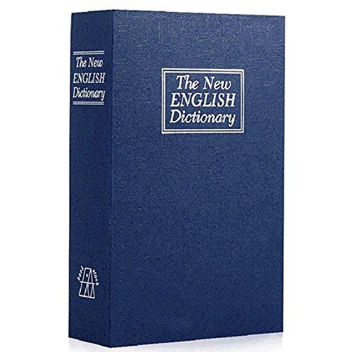 Caja de Seguridad de Libro - SODIALRCaja de Seguridad de Libro de diccionario secreto para esconder...