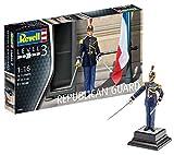 Revell Modellbausatz Figuren 1:16 - Französische Garde Républicaine / French Republican Guard im Maßstab 1:16, Level 3, originalgetreue Nachbildung mit vielen Details, 02803