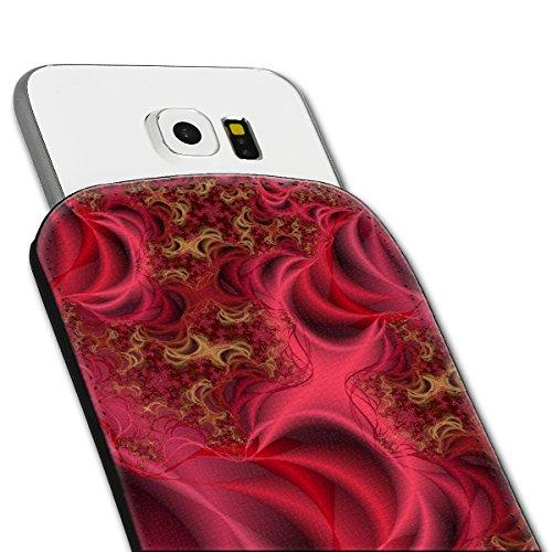 Sleeve Style Handy Tasche Case Schutz Hülle Schale Motiv Etui für Apple iPhone 6 / 6S - Sleeve UBS20 Design12 Design 4