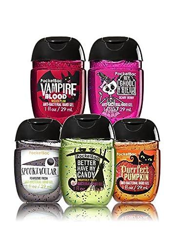 Bath & Body Works Pocketbac Nettoyant pour les mains (5 pièces) - Halloween