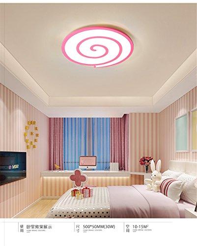 QIYUEQI LED runde Lutscher weißes Licht 24W 40 * 5 cm Geeignet für Wohnzimmer Schlafzimmer und der Küche Kinderzimmer Deckenleuchte Deckenleuchten