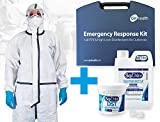 GV Health Emergency Containment & Disinfection Kit w/Type 4,5,6 Coverall