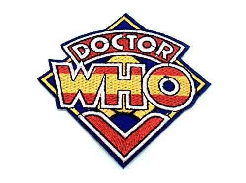 Doctor Who Nähen Einer Bestickt Eisen auf Patch