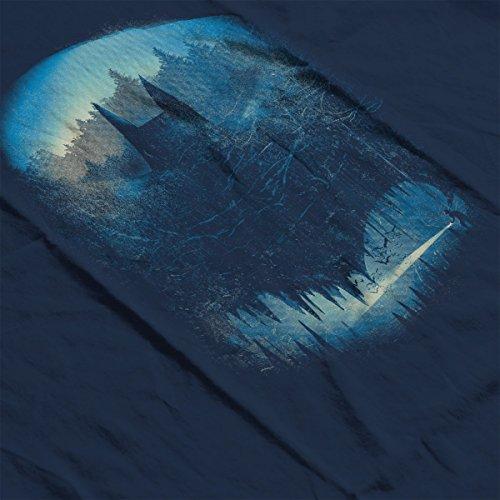 Batman Batcaving Women's Vest Navy Blue