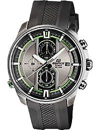 CASIO EFR-533PB-8A - Reloj de cuarzo analógico con correa de resina para hombre, color  negro