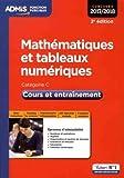 Mathématiques et tableaux numériques Catégorie C : Cours et entraînement