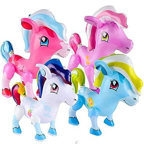 German Trendseller® - poney gonflable ┃party animal ┃l