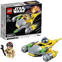 LEGO Star Wars - Microfighter: Caza Estelar de Naboo, juguete de construcción de nave