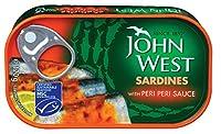 John West Sardines with Peri Peri Sauce, 120g