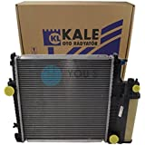 KALE Enfriador de agua Refrigeración del motor BMW Serie 3 E36 Cabrio/Coupe/Touring 316i / 318i / 320i / 323i / 325i