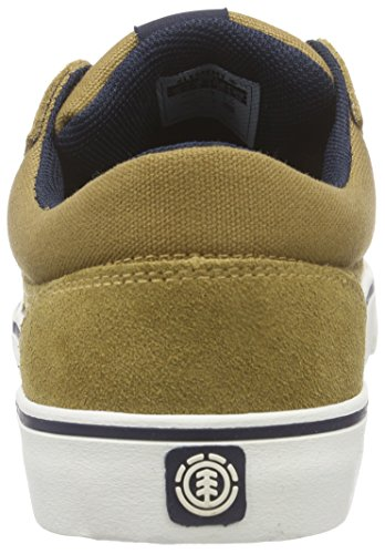 Element Wasso B Herren Skateboardschuhe Braun (CURRY NAVY 4076)