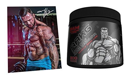8d00bb3ed28 Fan Edition B.A.M. Ultra Pure Arginin-Ketoglutarat Pump Regeneration  Aminosäure Aminos Supplement Fitness Bodybuilding 300g
