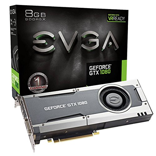 EVGA GeForce GTX 1080 Gaming, 8 GB