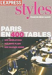 Paris en 400 tables