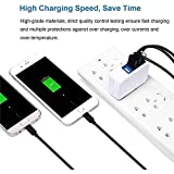 Universal EU Plug 3.1A 15W 4 Port USB High Speed Wall Charger Portable Travel Charger Power Adapter For IPhone 7 6s Plus IPad Android Phone