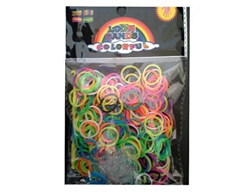 confezione-di-elastici-in-silicone-300-sprint-fluo-fermagli-per-rainbow-loom-bands