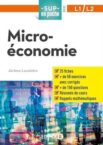 Microéconomie par Jérôme Lecointre