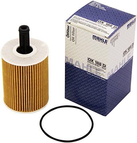 Preisvergleich Produktbild Mahle Filter OX188D Ölfilter