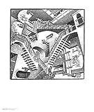 M.C. Escher Poster Kunstdruck Relativitaet 6