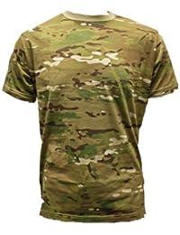 Adultes Camouflage t-shirt Airsoft Militaire Motif Multi-Terrain MTP Multicam t-shirt