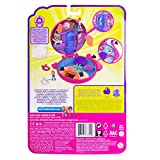 Polly Pocket FRY38 Pocket World Flamingo Floatie Compact Play Set, Multi-Colour