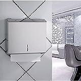 Unbekannt Edelstahl Tissue Box Toilettenpapierhalter WC Hand Papierfach unter der Öffnung des Papiers KTV Stil