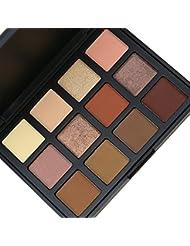 VALUE MAKERS® Végétalienne Pallette Fards à Paupière 12 couleurs - Très pigmentée pour un maquillage naturel
