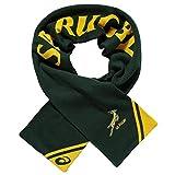 Springboks Écharpe Officielle des Fans de Rugby Afrique du Sud 100% Acrylique