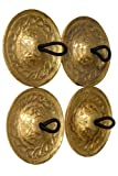 Mid-East Deluxe Messingguss Finger Cymbals 1