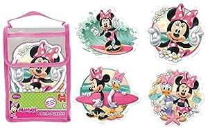 Jumbo 17349 - Badepuzzle - Disney Minnie Mouse, 2/3/3/4-Teilig