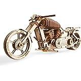 UGEARS Moto VM-02 Mecánica - Maqueta de Madera 3D Puzzle DIY Modelo - Juego de Construcción Rompecabezas