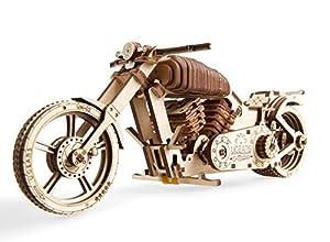 UGEARS UGE 412082 puzle 3D - Puzles 3D (189 Pieza(s), Bike VM-02, 14 año(s), Niño, Madera contrachapada, 256 mm)