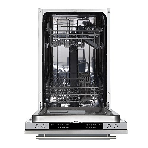 51eluBzaDOL. SS500  - Cookology CBID450 45cm Fully Integrated, Built-in Slimline Dishwasher | 10 Place Setting