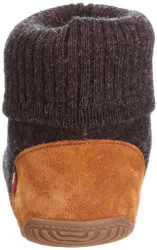 Living Kitzbühel - HÃ1/4ttenschuh - jeans, Sneakers, unisex Grigio (Grau (Anthra600))