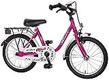 Bachtenkirch Kinder Fahrrad BIBI, pink, 16 Zoll, 1300412-BI-03
