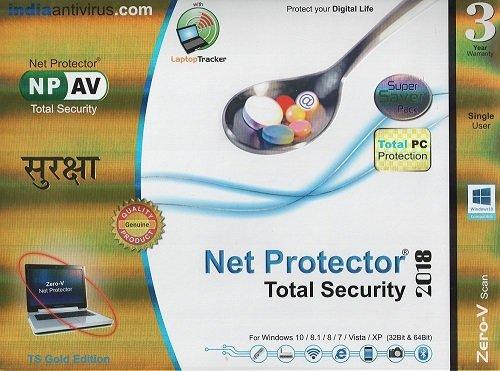 NPAV Net Protector 2018 TS Gold Edition - 1 PC,...
