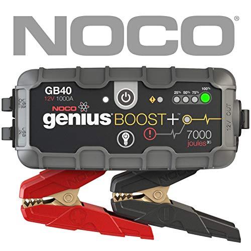 NOCO Boost Plus GB40 1000 Amperios 12V UltraSafe Litio Arrancador de...